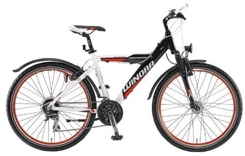 Mod.12 Winora Blaster Y MTB - Jugend Mountainbike - Rad 26 Zoll, 24-Gang Bike weiss/schwarz/rot RH 54 UVP: 399,00 Euro