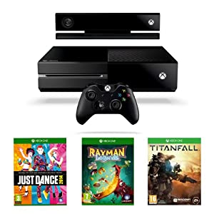 Xbox One Console with Titanfall, Just Dance 2014 and Rayman Legends