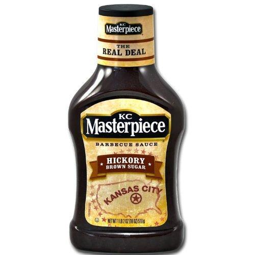 цены на KC Masterpiece, Hickory Brown Sugar Barbecue Sauce, 18oz Bottle (Pack of 3) в интернет-магазинах