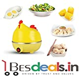 Best Deals - Hen 7 Egg Boiler With Egg Tray ( Color May Vary )