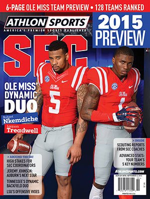 Athlon Sports 2015 College Football Southeastern (SEC) Preview Magazine- Ole Miss Rebels Cover