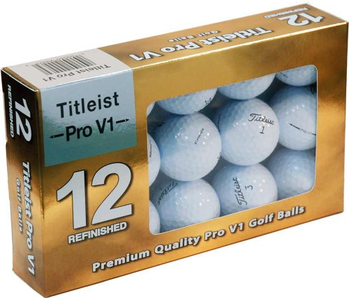 Titleist Pro V1 Mint Refinished Official Golf