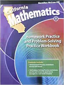 California mathematics grade 4 homework help