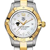 TAG HEUER watch:West Point TAG Heuer Watch - Women's Two-Tone Aquaracer with Diamond Dial at M.LaHart