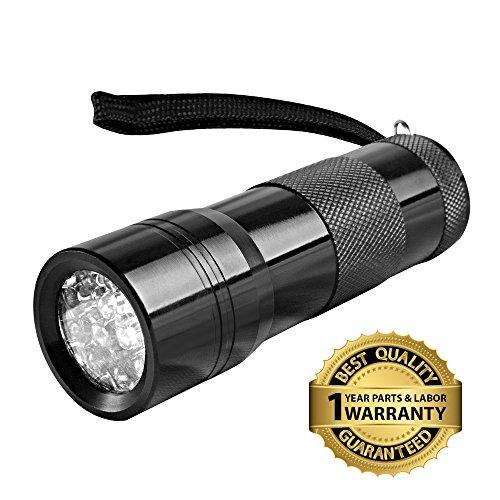 Goliath Industry UV Handheld LED Flashlight, Black (Hotel Black Light compare prices)
