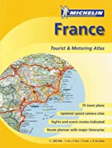 Michelin France Tourist & Motoring Atlas (Michelin France Tourist & Motoring Atlas (spiral))