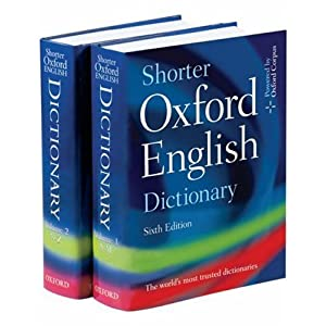 Amazon.com: Shorter Oxford English Dictionary: Sixth Edition ...