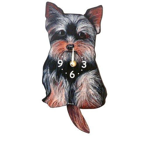 Pendulum Dog Clock - Yorkie