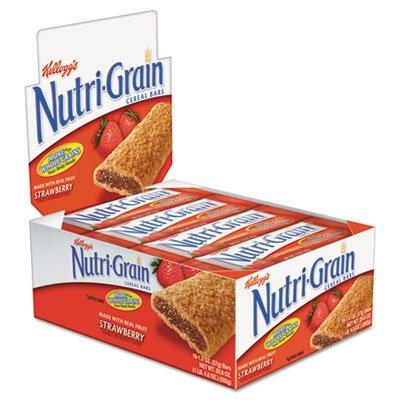 Nutri-Grain Cereal Bars, Strawberry, Indv Wrapped 1.3Oz Bar, 16/Box