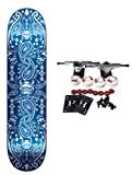 SPEED DEMONS Complete Skateboard BLUE BANDANA 7.5