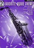 Favorite Movie Themes for Alto Sax. Partitions, CD pour Saxophone Alto