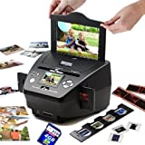 NEW! PS9700 with 4GB 3-in-1 Digital Photo/Negative Films/Slides Scanner with built-in 2.4 LCD Screen with FREE 4GB SDHC Memory Card