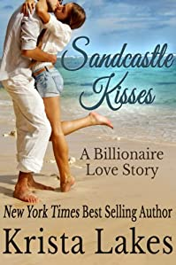 Sandcastle Kisses: A Billionaire Love Story by Krista Lakes ebook deal