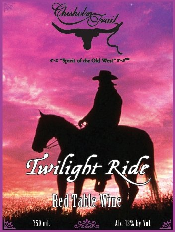 Nv Chisholm Trail Winery Twilight Ride Red Blend 750 Ml