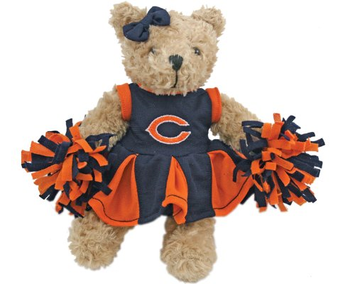 NFL Chicago Bears Cheerleader Bear
