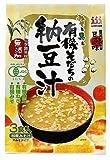 ひかり味噌 有機そだちの納豆汁 3食(有機JAS認定) x 10個