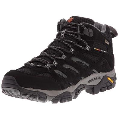 Merrell Moab Mid Gore-Tex(TM), Men's Hiking Boots, Black J584597, 10 UK