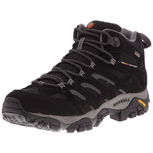 Merrell Mens Moab Mid Gore-Tex XCR Black Trekking and Hiking Boots J584597 9 UK, 43.5 EU