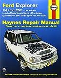 Jay Storer Ford Explorer, Mazda Navajo, Mercury Mountaineer (91 - 01) (Haynes Automotive Repair Manuals)