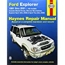 Ford Explorer, 1991-2001: Explorer Sport Thru 2003, Sport Trac 2005 (Haynes Repair Manual)