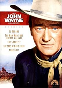 John Wayne Dvd Gift Set The Shootist The Sons Of Katie Elder True Grit El Dorado The Man Who Shot Liberty Valance by Paramount