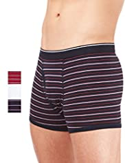 3 Pack Stretch Cotton Assorted Trunks