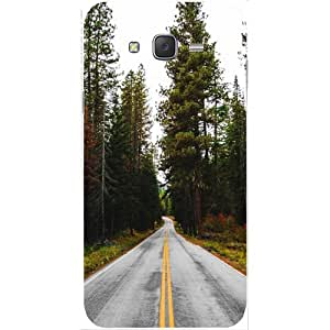 Casotec Road Photo Design Hard Back Case Cover for Samsung Galaxy J2