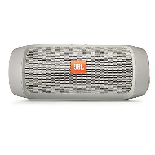 JBL Charge 2+ Splashproof Portable Bluetooth Speaker (Gray)
