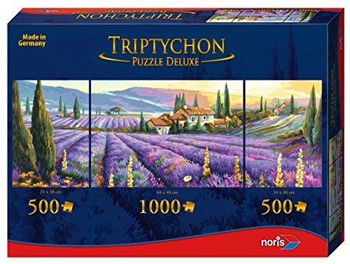 Noris Spiele 606031001 - Triptychon Puzzle Deluxe