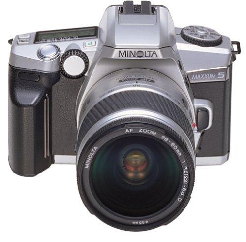 #!  Minolta Maxxum 5 35mm SLR Quartz Date Kit with 28-80mm Zoom Lens