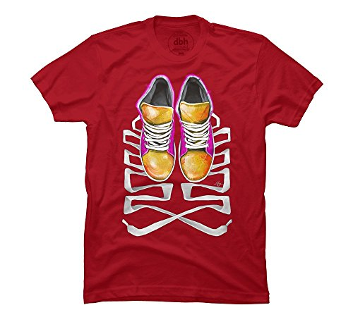 Pop Sneakers Men'S 3X-Large Cardinal Graphic T Shirt - Design By Humans