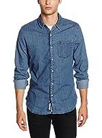 Hilfiger Denim Camisa Vaquera (Azul)