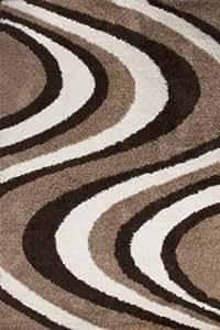 Shaggy alfombras tejidas baratas beige seleccionar el for Alfombras beige baratas