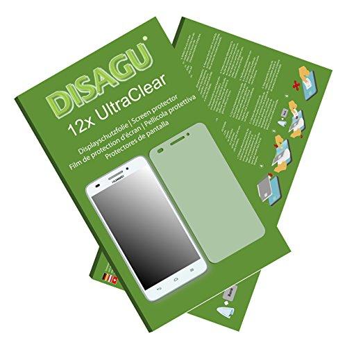 12x Ultra Clear Displayschutzfolie für Huawei Ascend G620S