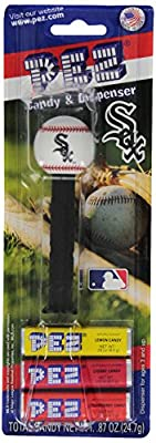 PEZ MLB Candy Dispensers, Chicago White Sox, 0.87 Ounce (Pack of 12)