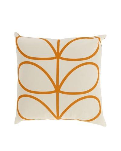 Orla Kiely Orange Down Pillow