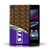 IChoose® Designer Chocolate Bar Cases for Sony Xperia Z1 / Protective Hard Back Case Cover / Mars, Galaxy, Flake & Others Collection / Wrapped Block/Slab
