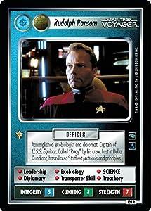 Star Trek Ccg 1e Voyager Rudolph Ransom 131r