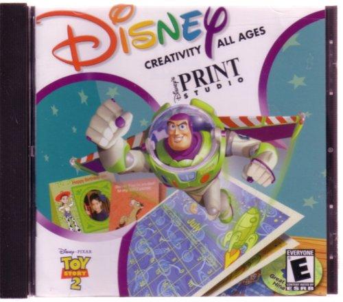 Toy Story 2 Print Studio (Jewel Case)