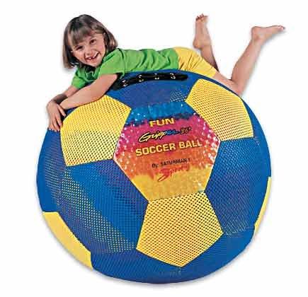 "Saturnian Tie Dye 36"" Soccer Ball"