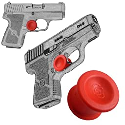 1 Pack Kahr CW9 9mm and All other Kahr Models / Quick Release Concealed Carry Micro Holster Trigger Stop by Garrison Grip, Red