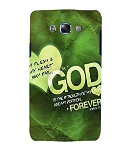 printtech Cool Quotes God Back Case Cover for Samsung Galaxy Grand Prime G530h
