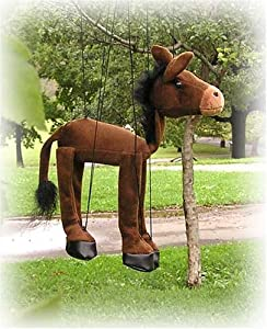 Donkey 16 Animal Marionette by Sunny and Co Toys