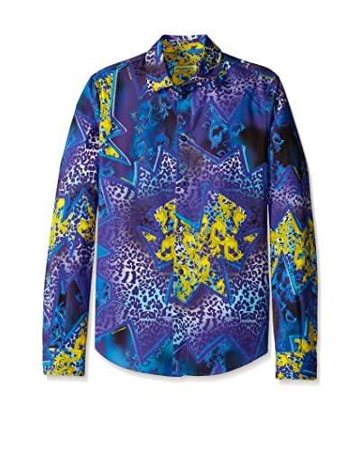 Versace Jeans Men's Allover Print Shirt