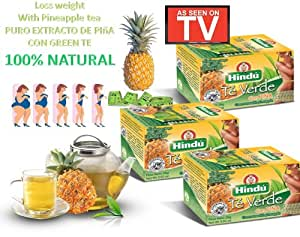 , Pineapple Tea Diet 3 Cajas De 60 Bolsas: Health & Personal Care