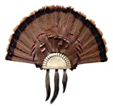 Flambeau Turkey Black Anodized Fan Plaque