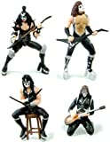 KISS Action Figure Bundle (includes Starchild, The Demon, Spaceman & Catman)
