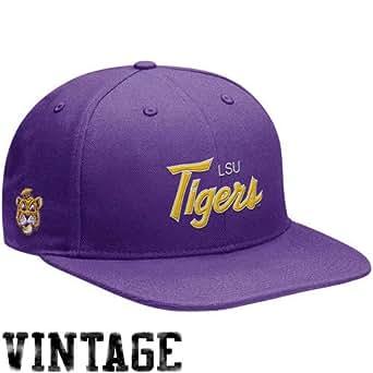 nike lsu tigers purple vault snapback