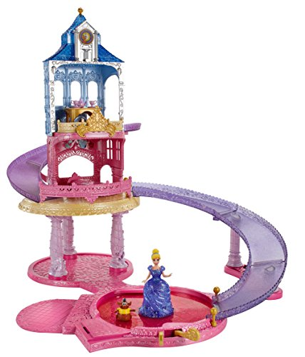 New Disney Princess Glitter Glider Playset