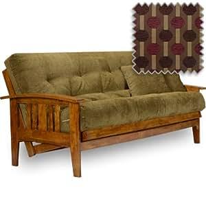 westfield futon set queen size frame premium 8